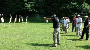 Mike shooting. Look at that recoil control!