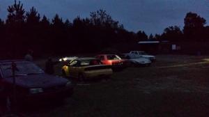 Night shoot.