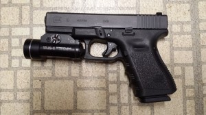 Glock 19 with Streamlight TLR-1