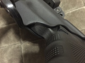 My major criticism of the holster...