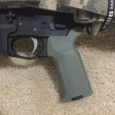 MagPul MOE-K2, MagPul Enhanced Trigger Guard, & ALG Defense ACT Trigger