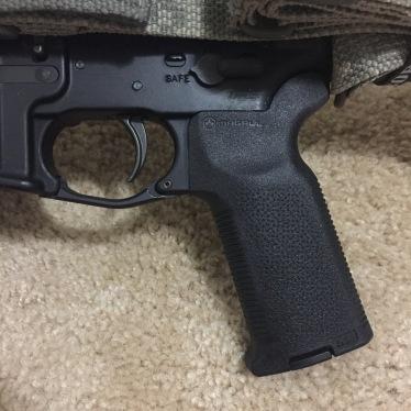 MagPul MOE-K2, MagPul Enhanced Trigger Guard, & ALG Defense QMS Trigger