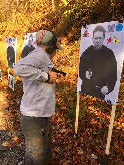 Robert Shooting the Drill