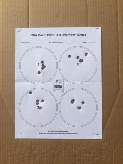 NRA Basic Pistol 2a