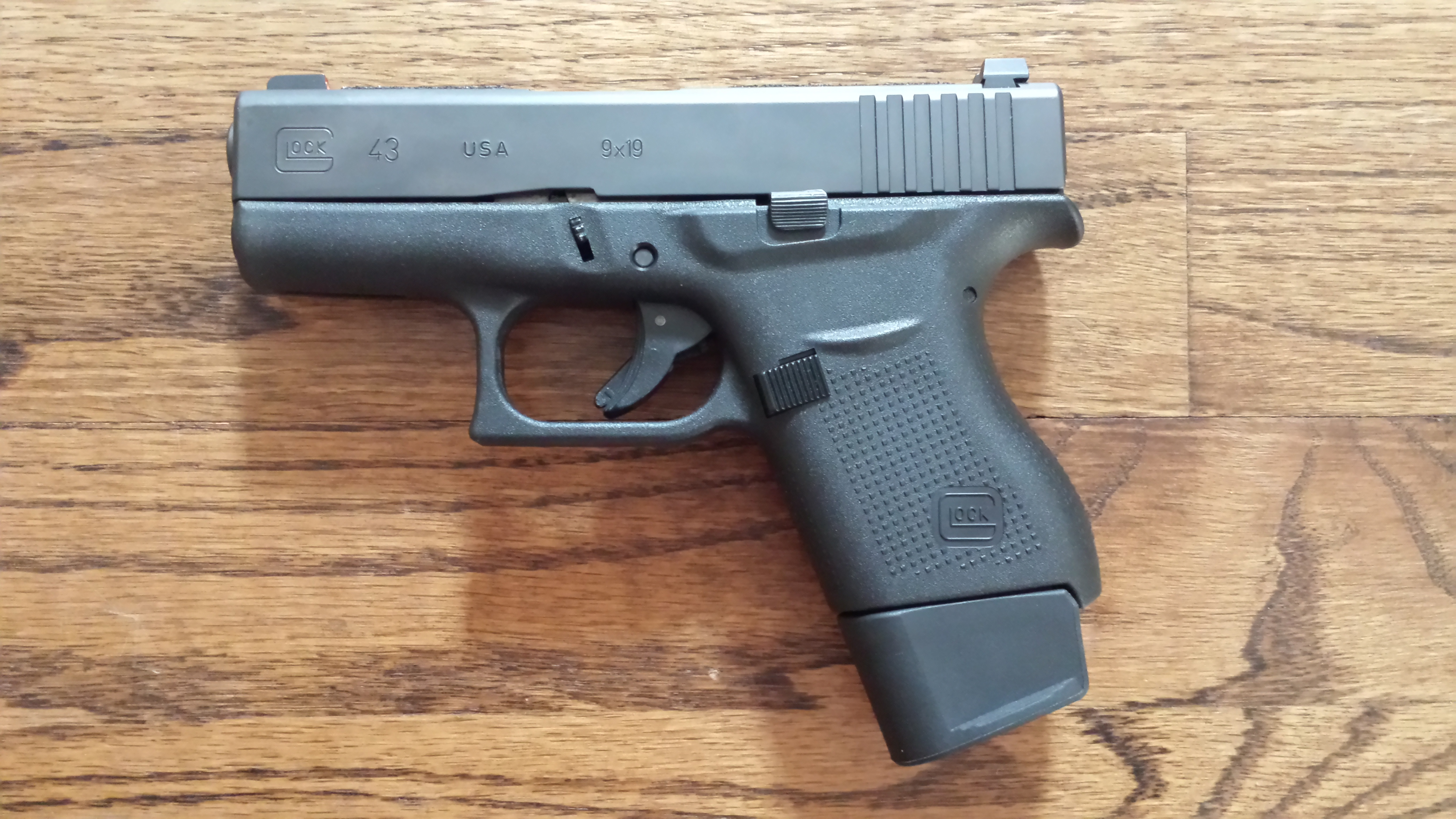 Equipment Review: The Glock 43 – CIVILIAN GUNFIGHTER