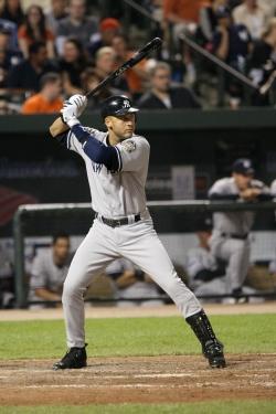Derek Jeter batting stance