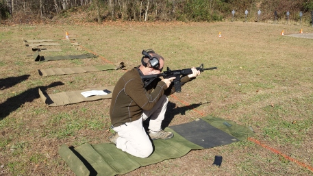 The supported kneeling position.
