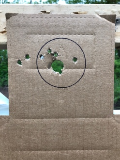 5 yards, IC choke