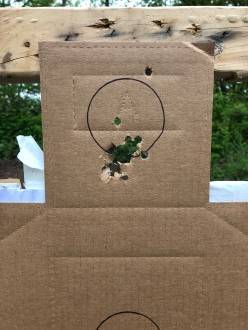 5 yards, modified choke