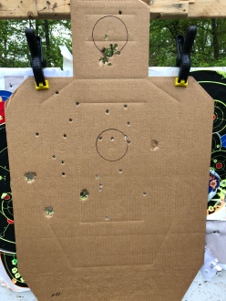 15 yards, modified choke