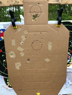 25 yards, modified choke