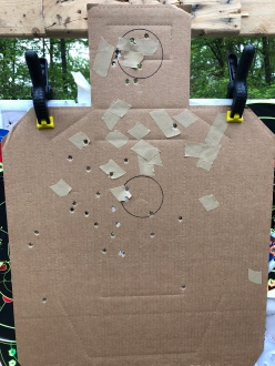 15 yards, full choke