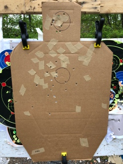 25 yards, full choke